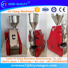 Korean Crispy Popped Rice Cake / White Rice Cake Machine With the Factory Price