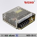 2 years warranty 35w led driver switching power supply single output