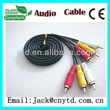Good Speed vga to yellow rca male cable High Quality
