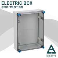 Made in China Residential Type Transparent Cover Distribution IP44 Outlet box