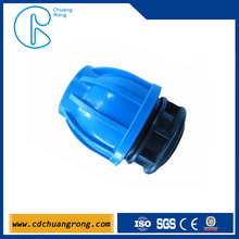 Supply plastic end cap for pvc pipe cover