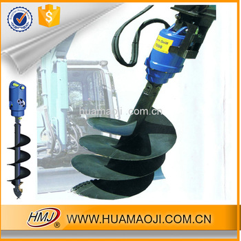 best selling rotary drilling rig earth auger crane made in China