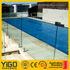 glass pool fence hinges/retractable pool fence
