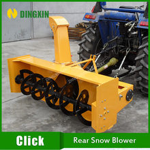 Tractor mounted rear snow blower with 1600mm width