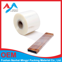 mingyi packing pvc transparent plastic wrapping film for alu profile