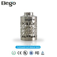 High Quality Aspire e Cigarette Atlantis hollowed-out sleeve tank