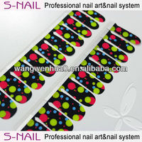 High Quality Cute Dry Nail Polish Strips Factory Wholesale price ( SNPM051 )