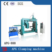 Full automatic custom epoxy resin apg clamping machine APG-888 for electric insulator transformer bushing plug contact box