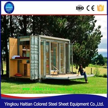 Folding 20ft prebuilt container bunk houses expandable prefabricated homes for sale in China