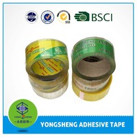 Hot sell 2015 Wholesale Acrylic Adhesive Crystal Super Clear Bopp Tape For Carton Sealing