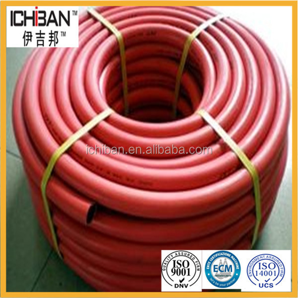 ISO3821 Cetificated high pressure portable single line oxy fuel gas cutter hose natural steam rubber pipes