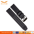 Factory direct silicone strap TPU watch with 23MM Black Watch Band Fashion