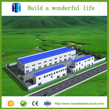 Steel structure fabricated ready made used warehouse buildings for sale