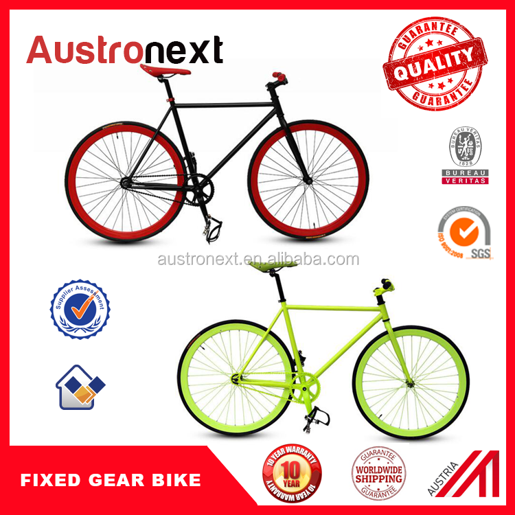 hot selling new products single speed cheap fixie fixed gear bike frame 700c MTB bike bicycle for sale with CE free tax