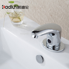 2017 Hot Sale modern bathroom faucet mixer tap water controlled lavatory automatic sensor