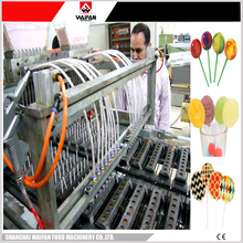Waifan New candy cane processing line/flat lollipop making plant/candy cane machines