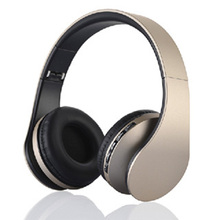 Bluetooth 3.0 + EDR Jiuhu LH-811 Stereo Wireless Headphone Bluetooth Headset & Wired Earphone with Mic MicroSD/TF FM Radio