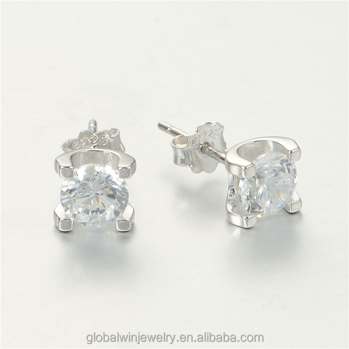 S925 Sterling Silver Jewelry With White Zircon Hot Sales For Wedding Party FE316