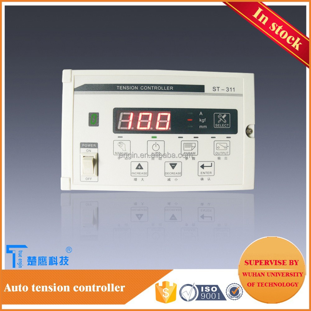plc controlled intelligent web tension controller