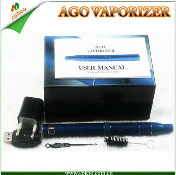 2013 Newest portable vaporizer Ago G5 dry herb vaporizer ago pen,wholesale AGO from professional manufacturer