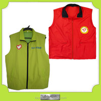 guangzhou factory wholesale cheap working advertising vest manufacturer