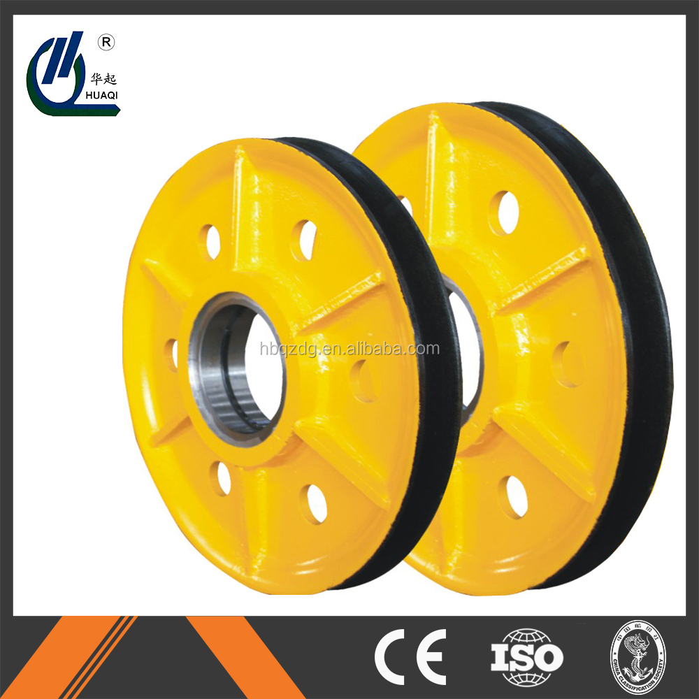 factory price gantry crane and port crane hot-rolled steel wire pulley