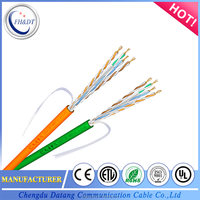 High Quality 4 Pairs UTP Cat6 LAN Cable/Network Cable for Cabling System