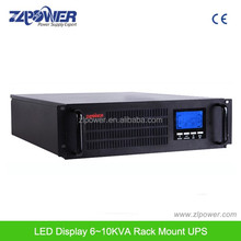 220Vac 2U 3U 19Inch 1Kva2Kva 3Kva 6Kva 10Kva Rack Mount UPS For Server Room