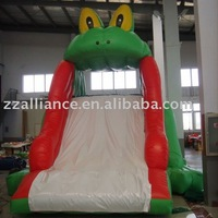 2016 inflatable bouncer frog slide high quality water slide inflatable
