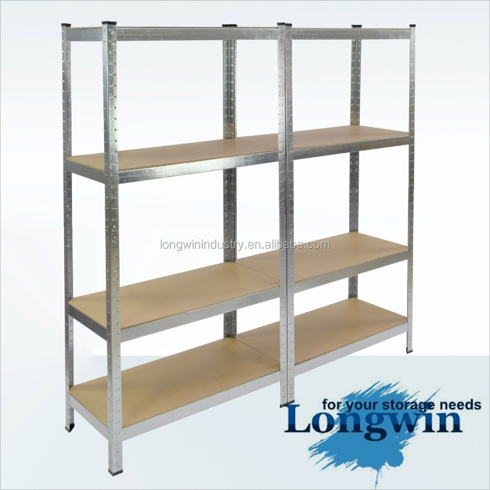 Heavy Duty Shelf Garage Steel Metal Storage 5 Level Adjustable Shelves Rack