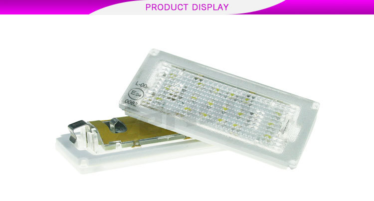2016 newset led license plate lamp, led number plate light