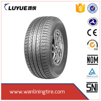 Chinese cheap new brand pcr tire radial car tire of wanlining