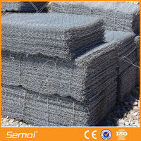 High Quality Heavy Duty Hexagonal Retaining Wall Wire Netting/Gabion Basket