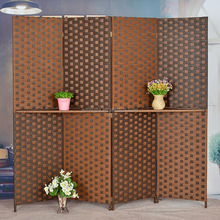 Brown Paper Handmade Folding doors accordion soundproof room divider