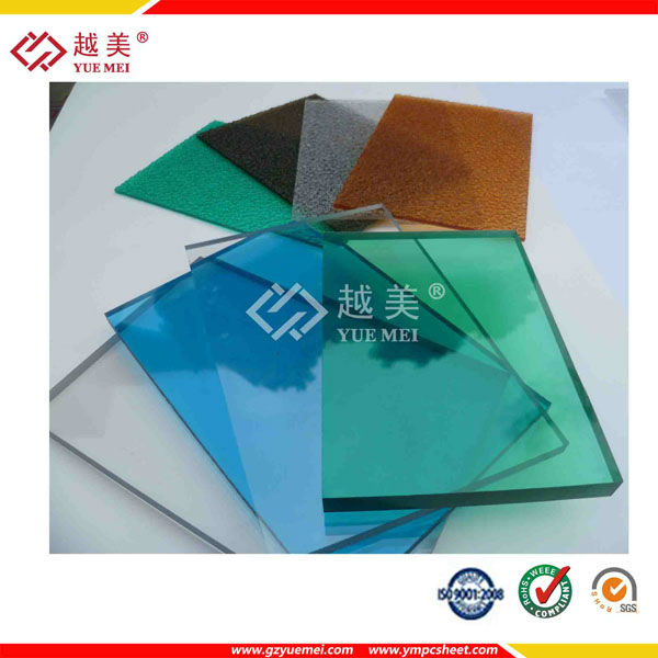 100% Bayer Lexan Material Heat Insulation Transparent Solid Polycarbonate Sheet