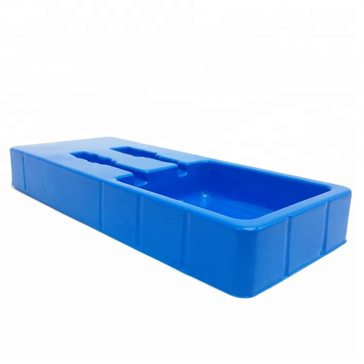 Custom blister tray  blister plastic packaging trays inner position blister box with fix the product