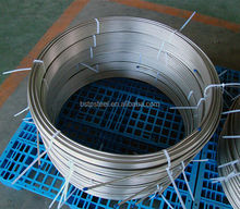 Seamless stainless Steel pipe coil Coiled heat exchanger Tube SUS304 / 304L / 316L, capillary tube coil