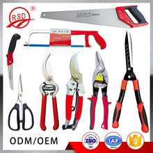 China factory high quality stainless scissors saw snips cutter garden tool set