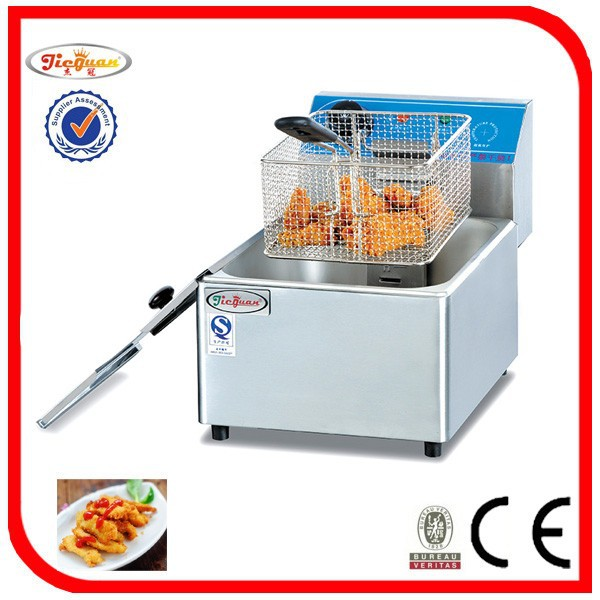 Electric Single Fryer(DF-6L) (CE certificate)