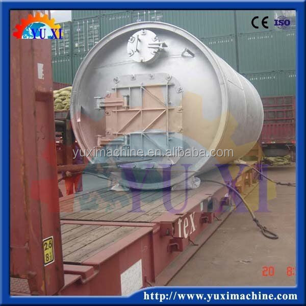 Hot-selling big output waste tyre pyrolysis oil refine machine production line