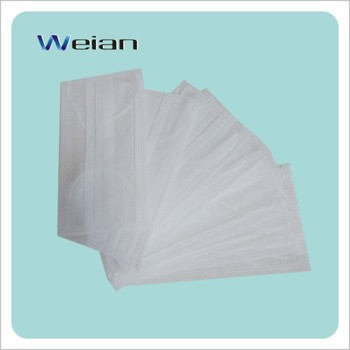 aseptic disposable medical face mask
