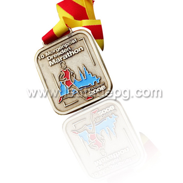 CR-MA47360_medal Singapore Regional Feature and Sports Theme handmade stylish stainless steel
