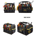 logo OEM service hand tools carrier larger open tool bag