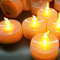yellow led birthday candle,flameless candle,electric candles wholesale