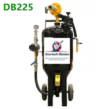 DB 225 Wet Type DB Series Dustless Surface Cleaning Sand Blasting Machine for Powder Coating Wood Restoration Marine