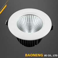 25W Cut Out 178mm Citizen COB Dimmable Adjustable LED Downlight With SAA CE RoHS