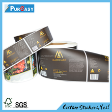 Adhesive waterproof hs code for label barcode label made in Shanghai