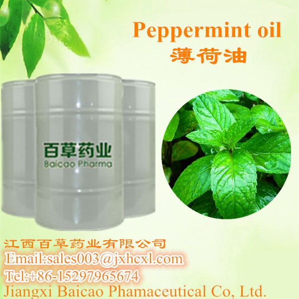 Essential oil peppermint extract volatile oil