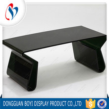 Modern Glass Furniture Long End Acrylic Coffe Table Plexiglass Console Computer Table Study Table