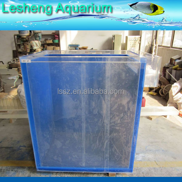 2016 big size acrylic jellyfish tank supplier
